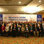 TÜRKİYE'NİN DEMOKRASİ SORUNU ABANT PLATFORMU'NDA TARTIŞILDI