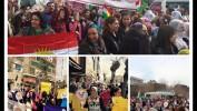 """Em di 8ê Adarê Roja Jinên Cîhanê de Dibêjin ku """"Ji Şerê Li Bakurê Kurdistanê Re Na"""""""