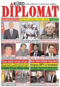 """Hejmara rojnama""""DÎPLOMAT"""" ya 353 derket, """"Diplomat"""" qəzetinin 353-cu sayı çıxdı və yayimlandi"""