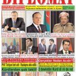 """Hejmara rojnama""""DÎPLOMAT"""" ya 355 derket, """"Diplomat"""" qəzetinin 353-cu sayı çıxdı və yayimlandi"""