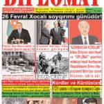 """Hejmara rojnama""""DÎPLOMAT"""" ya 379 derket û hat belavkirinê / """"Diplomat"""" qəzetinin 379-ci sayı çıxdı v..."""