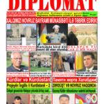 """Hejmara rojnama""""DÎPLOMAT"""" ya 381 derket û hat belavkirinê / """"Diplomat"""" qəzetinin 381-ci sayı çıxdı v..."""