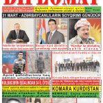 """Hejmara rojnama""""DÎPLOMAT"""" ya 382 derket û hat belavkirin / """"Diplomat"""" qəzetinin 382-ci sayı çıxdı və..."""