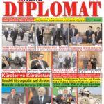 """Hejmara rojnama""""DÎPLOMAT"""" ya 383 derket û hat belavkirin / """"Diplomat"""" qəzetinin 383-ci sayı çıxdı və..."""