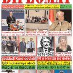 """Hejmara rojnama""""DÎPLOMAT"""" ya 390 derket û hat belavkirin! /""""Diplomat"""" qəzetinin 390-cı sayı çıxdı və..."""