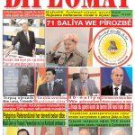 """Hejmara rojnama""""DÎPLOMAT"""" ya 394 derket û hat belavkirin, """"Diplomat"""" qəzetinin 394-cü sayı çıxdı və ..."""