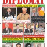 """Hejmara rojnama""""DÎPLOMAT"""" ya 398 derket û hat belavkirin, """"Diplomat"""" qəzetinin 398-ci sayı çıxdı və ..."""