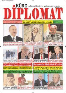 """Hejmara rojnama""""DÎPLOMAT"""" ya 397 derket û hat belavkirin, """"Diplomat"""" qəzetinin 397-ci sayı çıxdı və ..."""