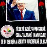 Li Teşkilatên PAKê Şîna  Rêberê  Gelê Kurdistanê Celal Talabani(Mam Celal) PAK  Teşkilatlarında Kürd...