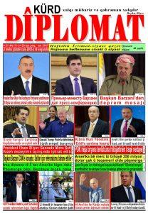 """Hejmara rojnama""""DÎPLOMAT"""" ya 401 derket û hat belavkirin, """"Diplomat"""" qəzetinin 401-ci sayı çıxdı və ..."""