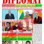 """Hejmara rojnama""""DÎPLOMAT"""" ya 400 derket û hat belavkirin, """"Diplomat"""" qəzetinin 400-cu sayı çıxdı və ..."""