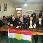 Hereketa Azadî, PAK, PDK-Bakur, PSK Êrîşa li ser Efrînê protesto kirin: