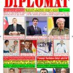 """Hejmara rojnama""""DÎPLOMAT"""" ya 406 derket û hat belavkirin, """"Diplomat"""" qəzetinin 406-ci sayı çıxdı və ..."""