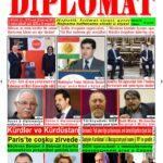 """Hejmara rojnama""""DÎPLOMAT"""" ya 410 derket û hat belavkirin, """"Diplomat"""" qəzetinin 410-cu sayı çıxdı və ..."""