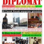 """Hejmara rojnama""""DÎPLOMAT"""" ya 412 derket û hat belavkirin, """"Diplomat"""" qəzetinin 412-ci sayı çıxdı və ..."""