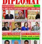 """Hejmara rojnama""""DÎPLOMAT"""" ya 415 derket û hat belavkirin, """"Diplomat"""" qəzetinin 414-ci sayı çıxdı və ..."""