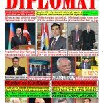 """Hejmara rojnama """"DÎPLOMAT"""" ya 418 derket û hat belavkirin, """"Diplomat"""" qəzetinin 418-ci sayı çıxdı və..."""