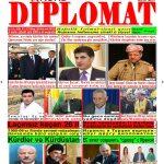 """Hejmara rojnama""""DÎPLOMAT"""" ya 420 derket û hat belavkirin, """"Diplomat"""" qəzetinin 420-ci sayı çıxdı və ..."""