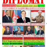 """Hejmara rojnama""""DÎPLOMAT"""" ya 423 derket û hat belavkirin, """"Diplomat"""" qəzetinin 423-cu sayı çıxdı və ..."""