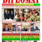 """Hejmara rojnama""""DÎPLOMAT"""" ya 431 derket û hat belavkirin, """"Diplomat"""" qəzetinin 431-ci sayı çıxdı və ..."""