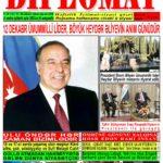 """Hejmara rojnama""""DÎPLOMAT"""" ya 444 derket û hat belavkirin, """"Diplomat"""" qəzetinin 444-cü sayı çıxdı və ..."""