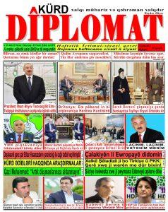 """Hejmara rojnama""""DÎPLOMAT"""" ya 448 derket û hat belavkirin, """"Diplomat"""" qəzetinin 448-cı sayı çıxdı və ..."""