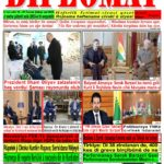 """Hejmara rojnama""""DÎPLOMAT"""" ya 449 derket û hat belavkirin, """"Diplomat"""" qəzetinin 449-cı sayı çıxdı və ..."""