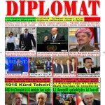 """Hejmara rojnama""""DÎPLOMAT"""" ya 455 derket û hat belavkirin, """"Diplomat"""" qəzetinin 455-cı sayı çıxdı və ..."""
