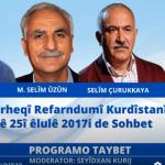 Derheqî Referandûmî Kurdistanî Sohbet