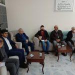 Ji Kurdistana Bakur heyetek ENKSê ziyaret kir