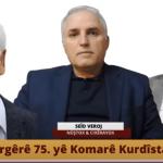PROGRAMO TAYBET Serrgêrê 75. yê Komarê Kurdîstanî