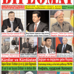 """Hejmara rojnama """"DÎPLOMAT"""" ya 348 derket û belavbû. """"Diplomat"""" qəzetinin 348-cü sayı çıxdı və yayıml..."""
