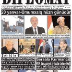 """Hejmara rojnama""""DÎPLOMAT"""" ya 376 derket û hat belavkirinê / """"Diplomat"""" qəzetinin 376-ci sayı çıxdı v..."""