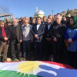 Welatperwerê Kurd Recep Yapici bi Ala Kurdistanê hate binaxkirin!