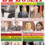 """Hejmara rojnama""""DÎPLOMAT"""" ya 387 derket û hat belavkirin, """"Diplomat"""" qəzetinin 387-ci sayı çıxdı və ..."""