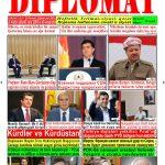 """Hejmara rojnama""""DÎPLOMAT"""" ya 411 derket û hat belavkirin, """"Diplomat"""" qəzetinin 411-ci sayı çıxdı və ..."""