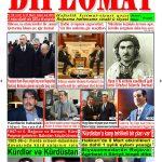 """Hejmara rojnama""""DÎPLOMAT"""" ya 413 derket û hat belavkirin, """"Diplomat"""" qəzetinin 413-ci sayı çıxdı və ..."""