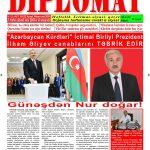 """Hejmara rojnama""""DÎPLOMAT"""" ya 417 derket û hat belavkirin, """"Diplomat"""" qəzetinin 417-ci sayı çıxdı və ..."""