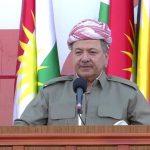 Nameya Serok Barzanî ji Konferansa Navnetewî ya Avakirina Federasyona Komeleyên Kurd li Komara Sovye...