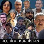 Partîyên Kurdistanî  tazîyeyan  ji bo şehîdên Rojhilatê Kurdistanê datînin