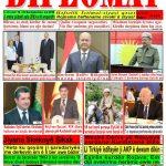 """Hejmara rojnama""""DÎPLOMAT"""" ya 454 derket û hat belavkirin, """"Diplomat"""" qəzetinin 454-cü sayı çıxdı və ..."""
